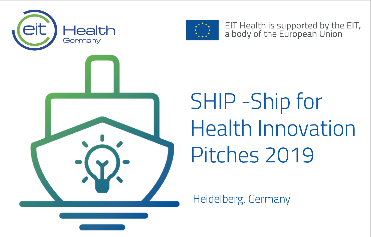 SHIP – Ship for Health Innovation Pitches